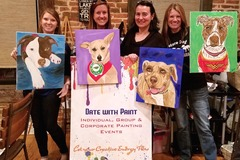 Bookable Offer: Paint Your Own Pet Portrait at our Painting Events