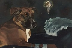 Bookable Offer: Custom, Hand-painted Animal Portraits - San Diego, CA