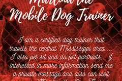 Bookable Offer: Marlina the Mobile Dog Trainer - Brandon, MS