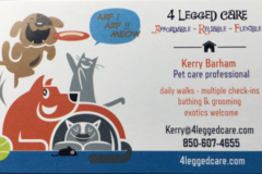 Request Quote: 4 Legged Care - Pensacola, FL