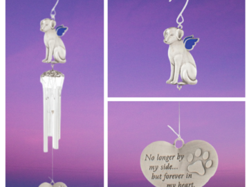 Dog Memorial WIndchime