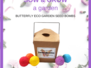 Sow and Grow Garden - Seed Bombs