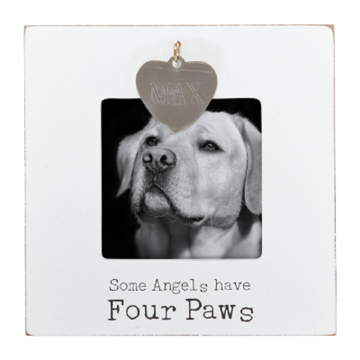 Angels Have 4 Paws Photo Frame