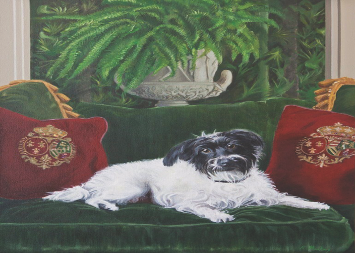 """'Sophie' - Oil on canvas, 24x30"""""""