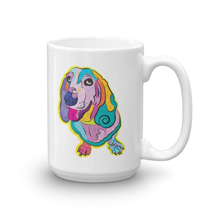 """Large mug: """"Mazie"""""""