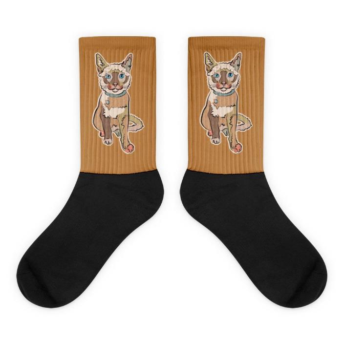 Socks. Super comfortable! Cat: Hanna Neutral color