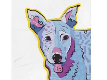 """Throw Blanket: Rescue Dog """"Faro"""""""