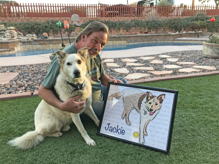 Portfolio: Jackie and his Dad