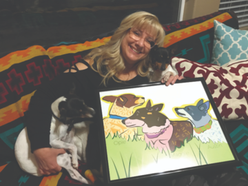 Portfolio: Rat terriers with their mom
