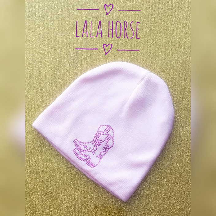 Cowgirl Boot Hat from LaLa Horse