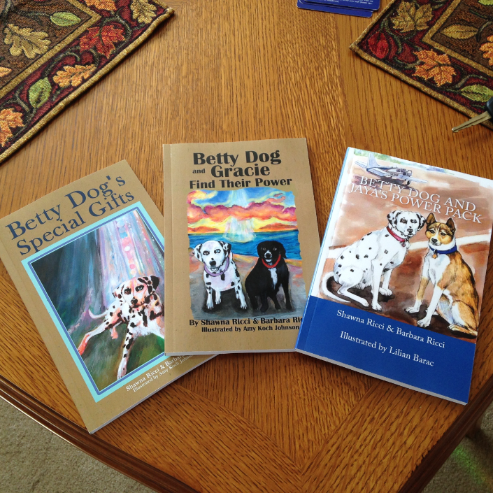 Betty Dog Children's Book Series (available on Amazon)