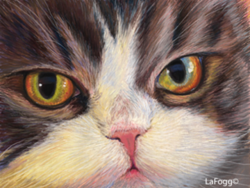 Lucky - Done in Pastel