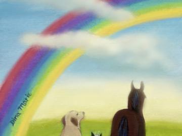 Pet sympathy memorial dog cat horse