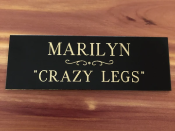 Personalized Nameplate