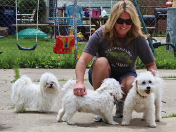 Our Potty Break Visit provides pups a mid-day break with lots of TLC