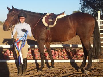 Reserve Champion Eq Rider   Shandoni Ranch Show  September, 2020