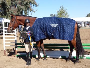 Champion Pleasure Rider  Shandoni Ranch Horse Show    September 2020