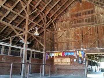 Inside Barns at Shandoni Ranch
