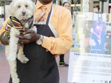 Famous Wayne and Famous the Dog
