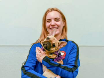 Fearful Animal Specialist/Puppy Class Instructor Laura