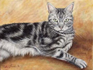 Tango - Custom Cat Painting