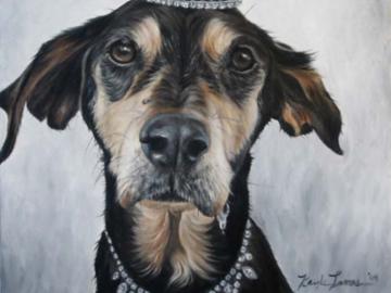 Angie - Custom Dog Painting