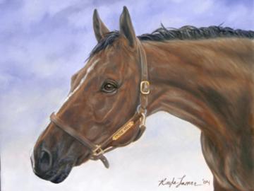 Castle - Custom Horse Painting