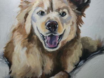 24x30 pet portrait