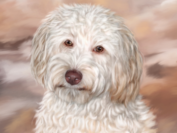 Shiloh (digital painting on canvas)
