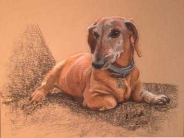 Oscar, pastel
