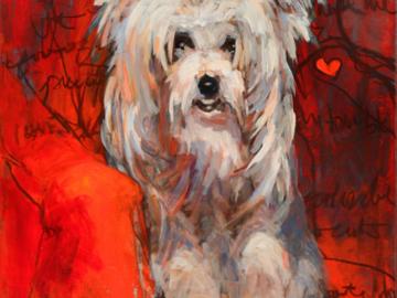 A portrait I painted