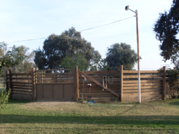 Our Round-pen, as re-designed by Pat Parelli