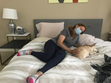 Animal Reiki with Warby a new rescue pup