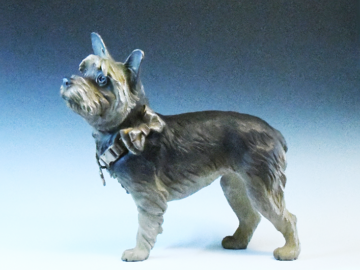 Life-sized Bronze Yorkie portrait, limited edition of 9