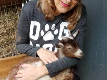 Michele & Bob the Goat