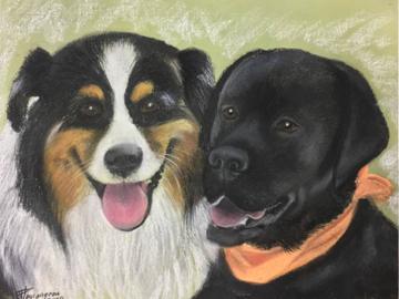 Linda's dogs