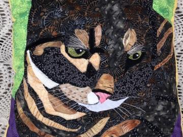Custom:  Olivia's cat    16 x 18 in. pillow