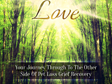 Pam's Book Tails of Unconditional Love, Your Journey To The Other Side of Pet Loss Grief Recovery