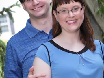 Lauren and Matt Theuerkauf