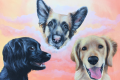 Request Quote: Therapy-Inducing Hand painted Pet Portrait - Raleigh, NC