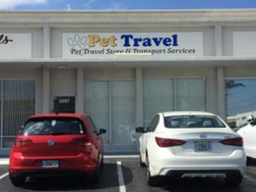 Pet Travel Transport Storefront