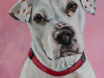 Penny | 24in x 30in | Acrylic on canvas