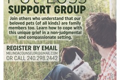 Pet Loss Support Group - Mechanicsville, MD