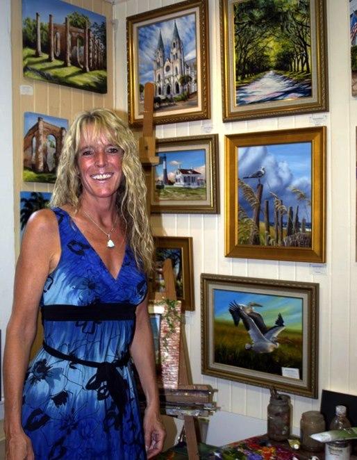 Michele Snell gallery - Savannah, GA