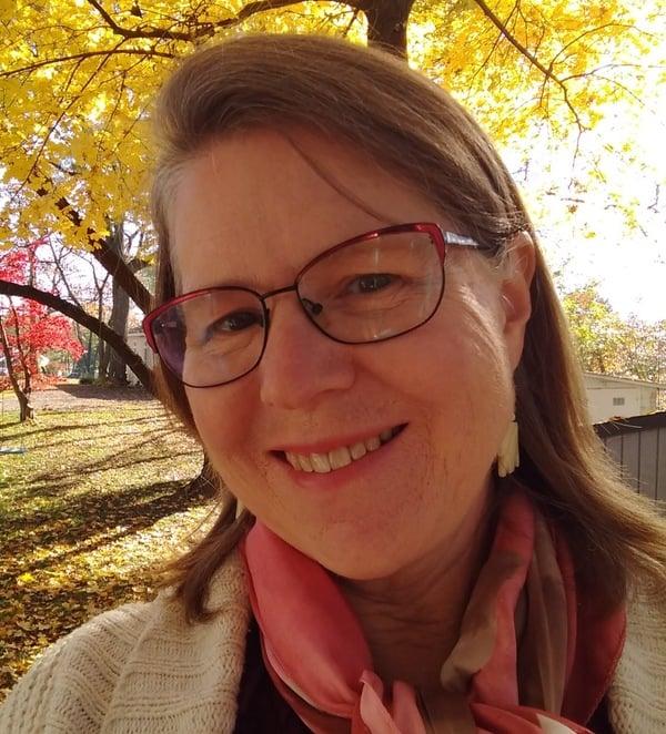 Gwen self portrait
