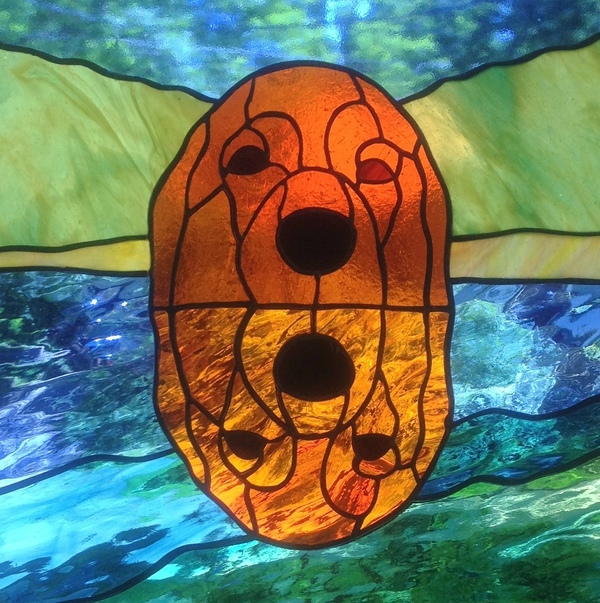 Evi Cundiff, Stained Glass Pet Portraits - Burlington, VT