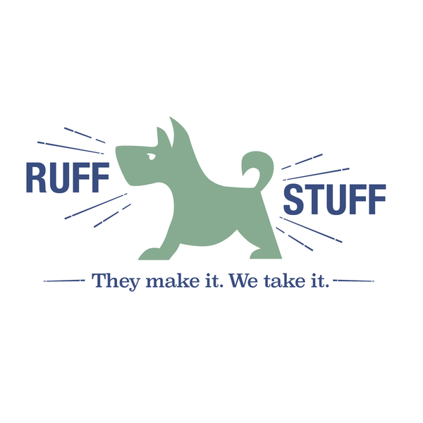 Ruffstuff logo with tag