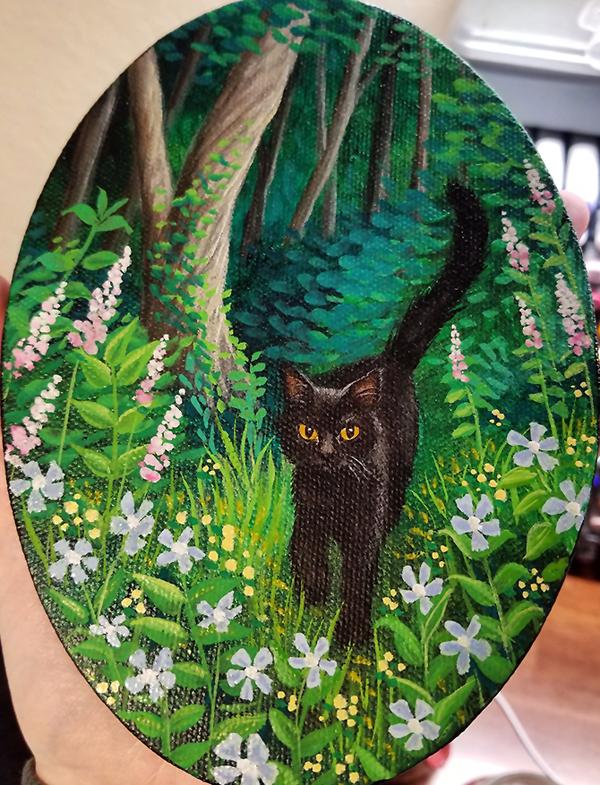 Hand Painted Custom Pet Portraits - San Antonio, TX