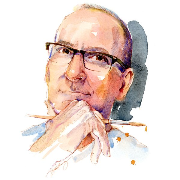 John Keeling Watercolor Portraits