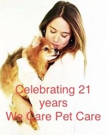 We Care Pet Care - Westfield, NJ